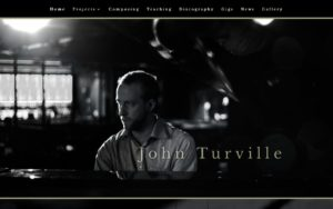 jazz piano web design